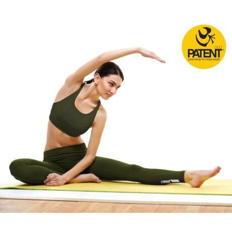 Női olivazöld sportmelltartó - PatentDuo