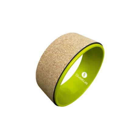 SVELTUS Cork Yoga Wheel