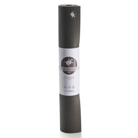 Jógaszőnyeg, jógamatrac, yoga mat,  Kurma  Black Grip 80 XL