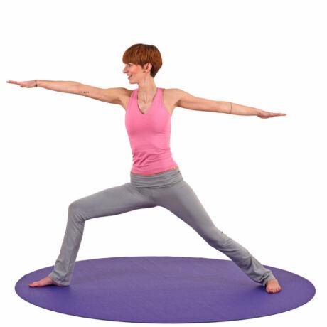 Jógaszőnyeg, jógamatrac, yoga mat,  Bodhi Mandala Kerek Szőnyeg