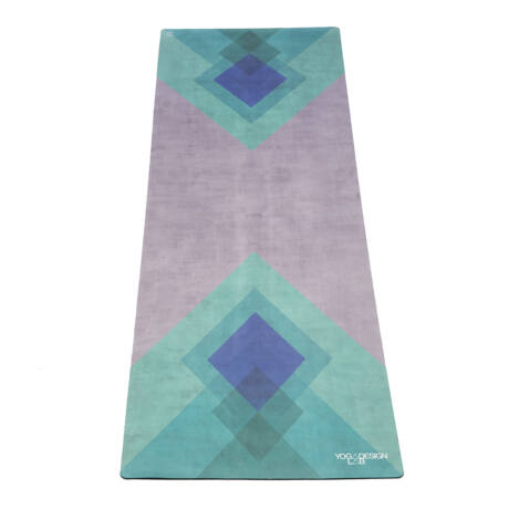 The Travel Mat - Collage Green / YogaDesignLab