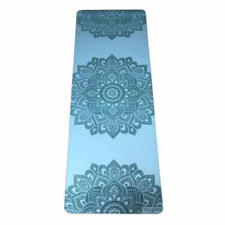 Infinity Yoga Mat - Aqua / YogaDesignLab
