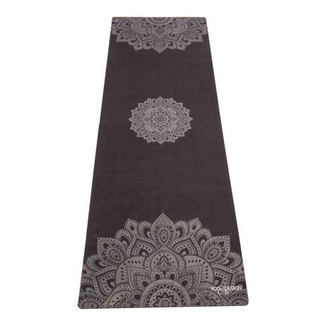 Utazó Jógaszőnyeg - Mandala Black / YogaDesignLab