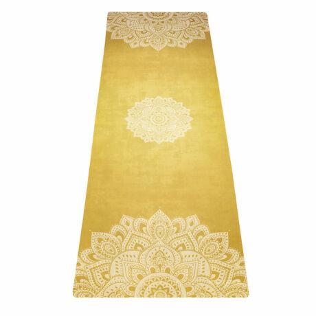 Utazó Jógaszőnyeg - Mandala Gold / YogaDesignLab