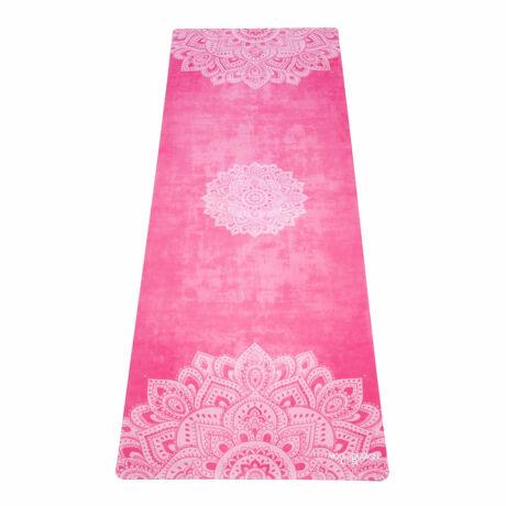 Combo Yoga Mat - Mandala Rose / YogaDesignLab
