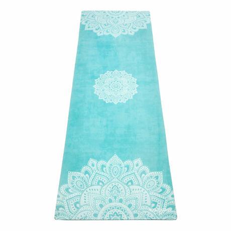 Combo Yoga Mat - Mandala Turquoise / YogaDesignLab
