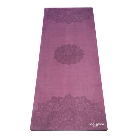 Combo Yoga Mat - Mandala Depth / YogaDesignLab