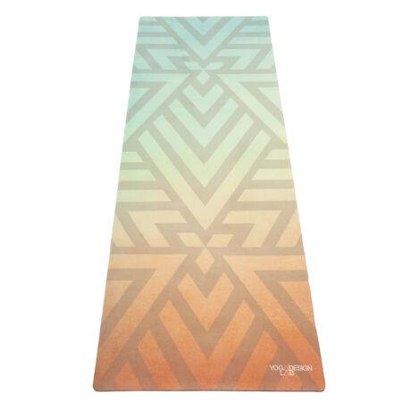 Combo Yoga Mat - Popsicle Maze / YogaDesignLab