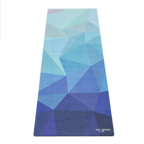 The Travel Mat - Geo Blue / YogaDesignLab