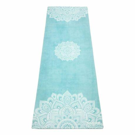 The Travel Mat - Mandala Turquoise / YogaDesignLab