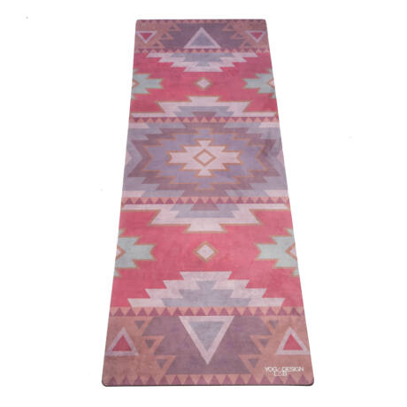 The Travel Mat - Tribal Coral / YogaDesignLab