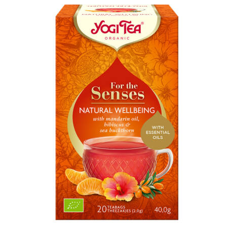 Yogi Tea - Bio tea az érzékeknek - Természetes jóllét