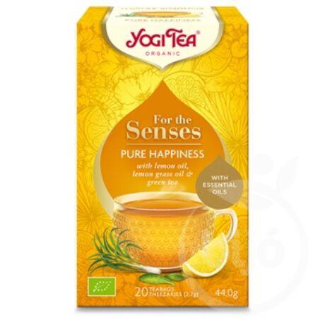 Yogi Tea - Bio tea az érzékeknek - Tiszta boldogság