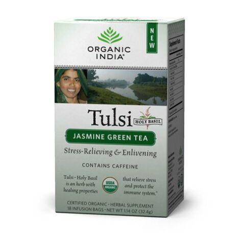 Bio Tulsi tea - Jázminos Zöld Tea