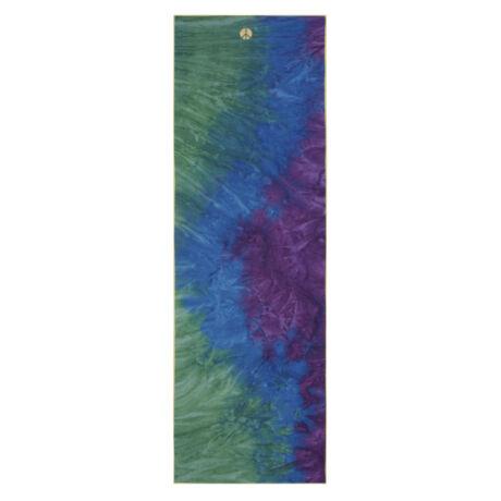 jógatörölköző, yoga towel,  Manduka Yogitoes  - Vintage Peacock Collection