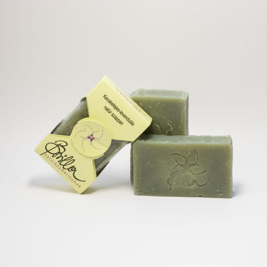 Brilla Goatmilk-Lavender Natural Soap