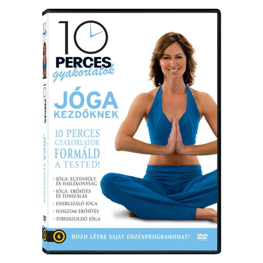 10 perces gyakorlatok  Jóga kezdőknek DVD most 1.190 Ft-ért - Yoga ... 458883487c