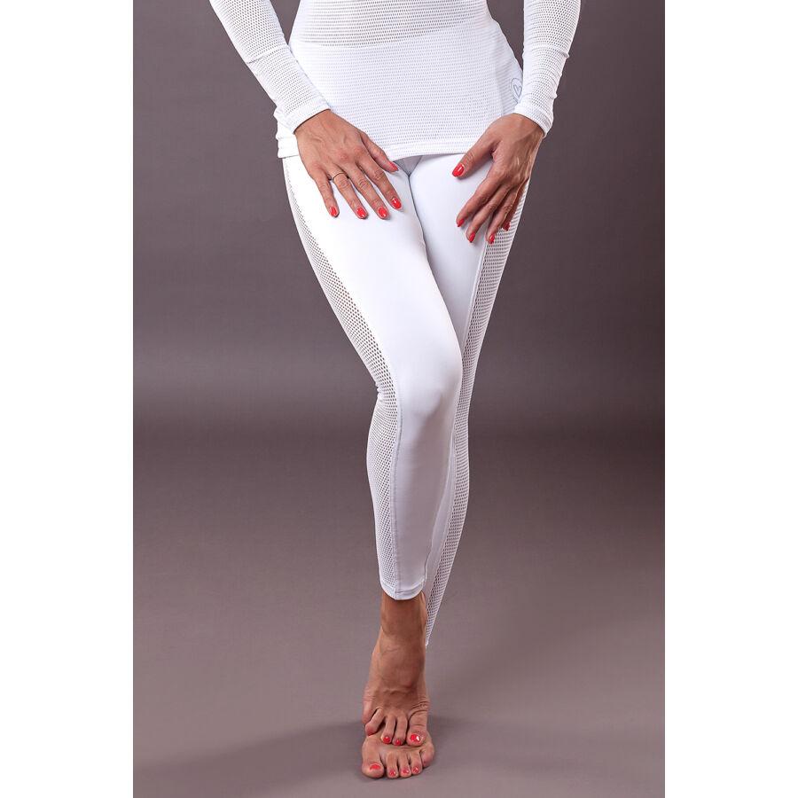 Vichy Fehér Jóga Bokanadrág most 9.990 Ft-ért - Yoga Bazaar 510fbedb13