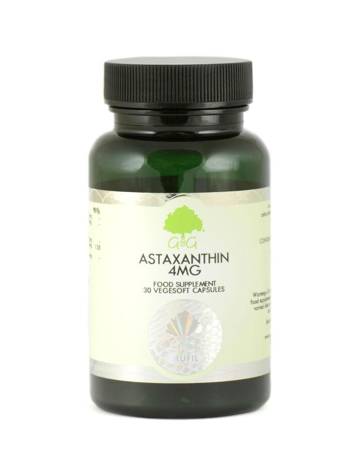 Astaxanthin 4mg 30 növényi lágykapszula – G&G