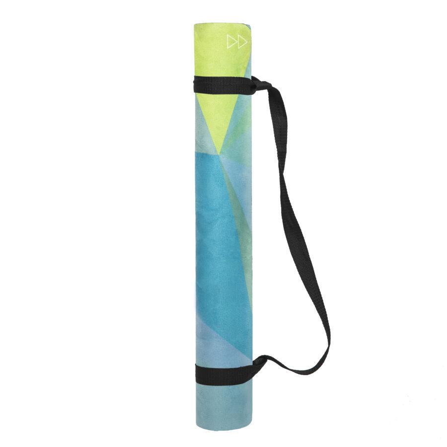 The Combo Mat All In One Mat Towel Designed For Bikram: Geo / YogaDesignLab: 71.60